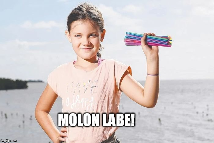 Come and Take them! | MOLON LABE! | image tagged in plastic straws,liberals,california,trump,politics,funny memes | made w/ Imgflip meme maker