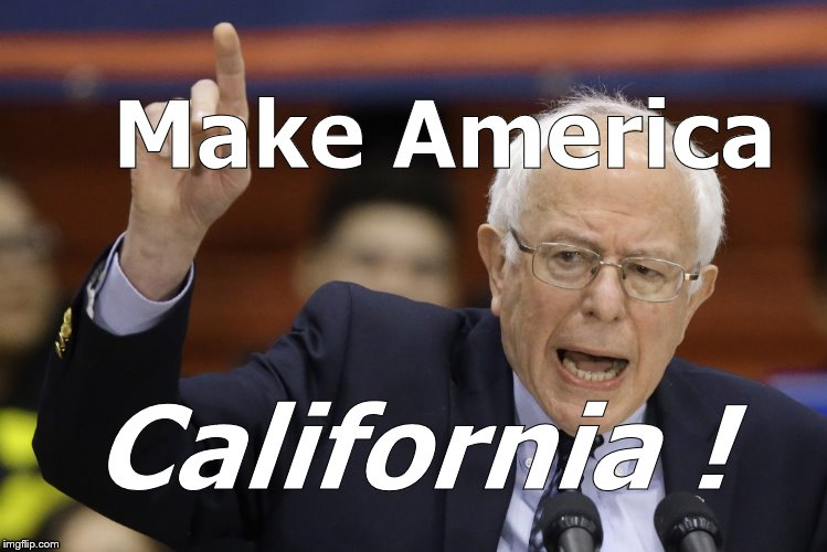 "Bernie's run for President-his 2020 campaign-could use a punchy slogan. ""Make America Venezuela"" won't work. Probably. 