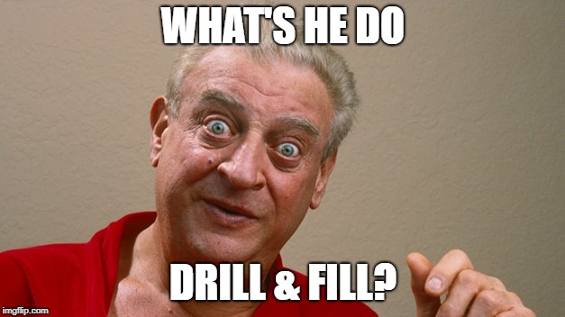 WHAT'S HE DO DRILL & FILL? | made w/ Imgflip meme maker