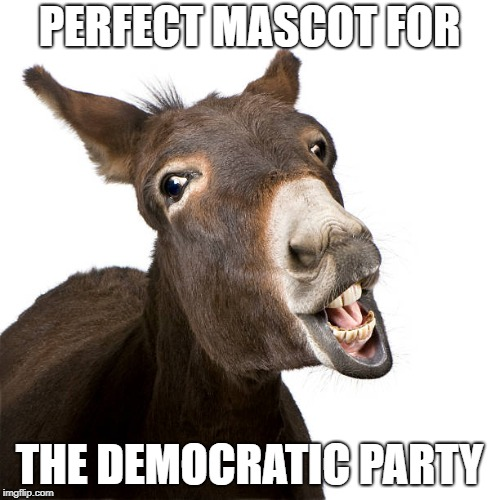 PERFECT MASCOT FOR THE DEMOCRATIC PARTY | made w/ Imgflip meme maker