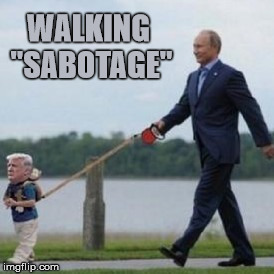 "WALKING ""SABOTAGE"" 