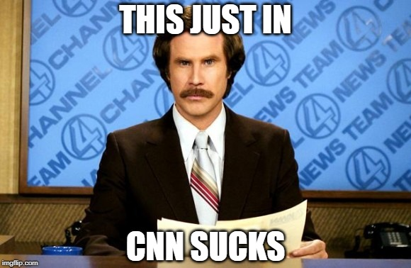 That must've been fun in Tampa the other day... | THIS JUST IN CNN SUCKS | image tagged in this just in,cnn,cnn fake news,cnn sucks | made w/ Imgflip meme maker