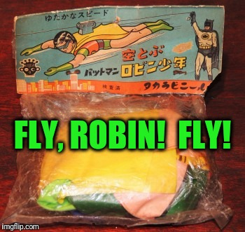 FLY, ROBIN!  FLY! | made w/ Imgflip meme maker