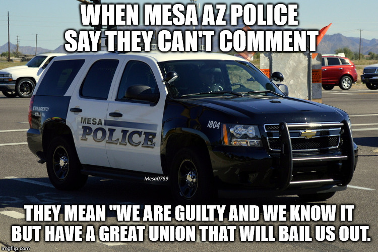 "Mesa Az sings ""If you're guilty and you know it beat a grandma:"" 