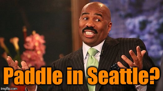 shrug | Paddle in Seattle? | image tagged in shrug | made w/ Imgflip meme maker