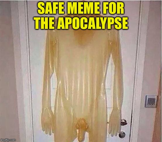 Condom | SAFE MEME FOR THE APOCALYPSE | image tagged in condom | made w/ Imgflip meme maker