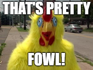 THAT'S PRETTY FOWL! | made w/ Imgflip meme maker