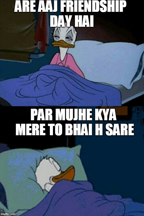 Sleepy Donald Duck In Bed Memes Gifs Imgflip