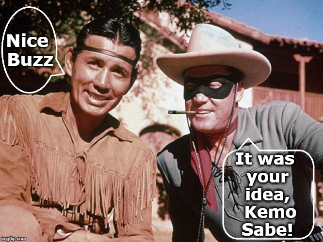 "New Meaning to the Phrase, ""High Ho Silver and Away."" 
