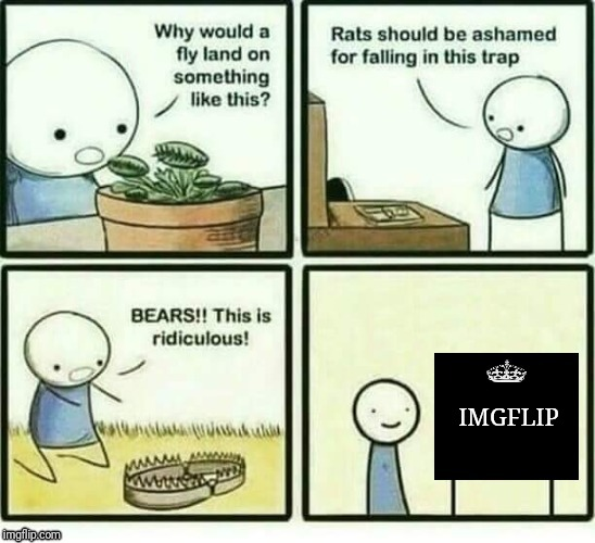 You might be a meme addict if... | IMGFLIP | image tagged in it's a trap,its a trap,imgflip,memes,you might be a meme addict,trap | made w/ Imgflip meme maker