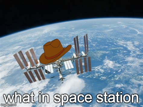 Houston we have a problem. Y'all hear? | what in space station | image tagged in memes,tarnation,what in tarnation,international space station,dead meme,dead memes | made w/ Imgflip meme maker