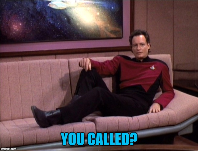 Q Star Trek | YOU CALLED? | image tagged in q star trek | made w/ Imgflip meme maker