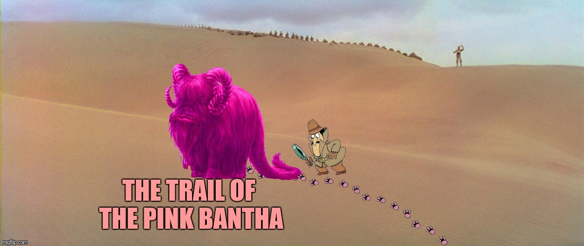 THE TRAIL OF THE PINK BANTHA | made w/ Imgflip meme maker