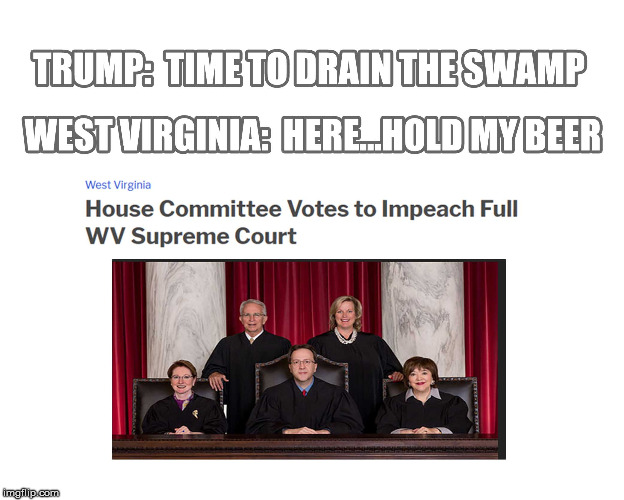 Impeacement | image tagged in drain the swamp | made w/ Imgflip meme maker