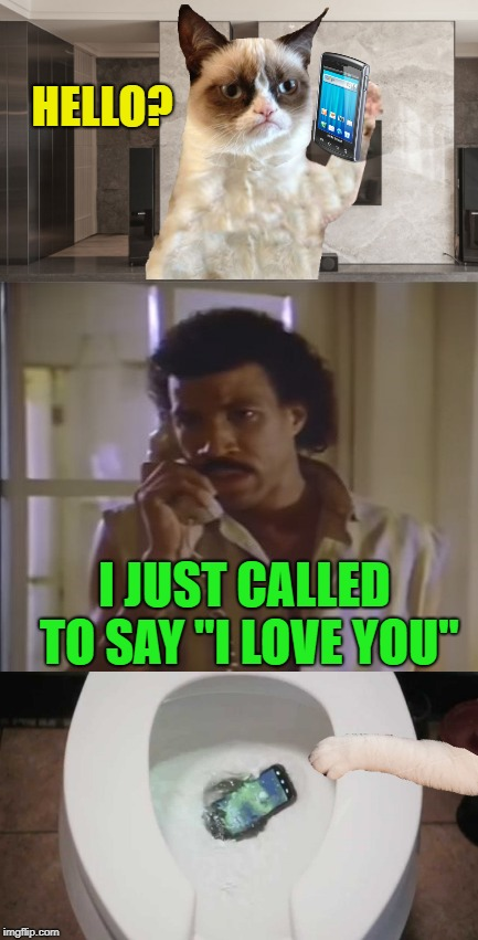 "Not in the mood | HELLO? I JUST CALLED TO SAY ""I LOVE YOU"" 