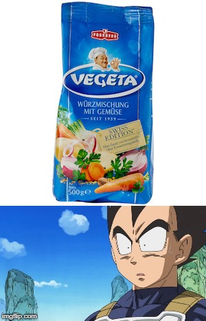 Vegeta shocked by Vegeta | image tagged in dbz meme | made w/ Imgflip meme maker
