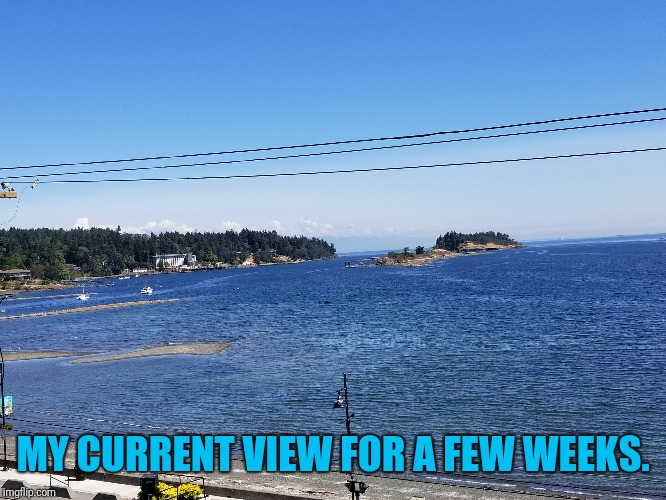 MY CURRENT VIEW FOR A FEW WEEKS. | made w/ Imgflip meme maker