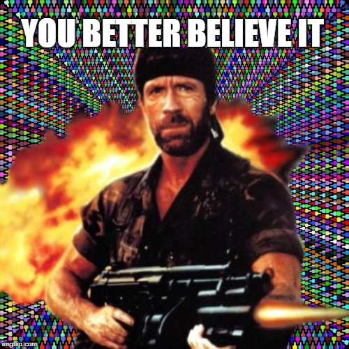 YOU BETTER BELIEVE IT | made w/ Imgflip meme maker