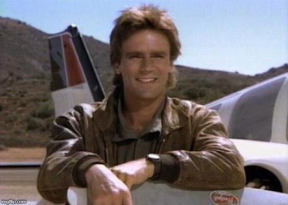 Mcgyver | . | image tagged in mcgyver | made w/ Imgflip meme maker
