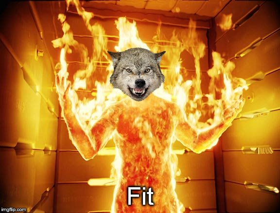 Human Torch | Fit | image tagged in human torch | made w/ Imgflip meme maker