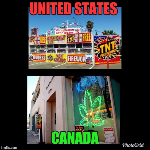UNITED STATES CANADA | image tagged in us | made w/ Imgflip meme maker