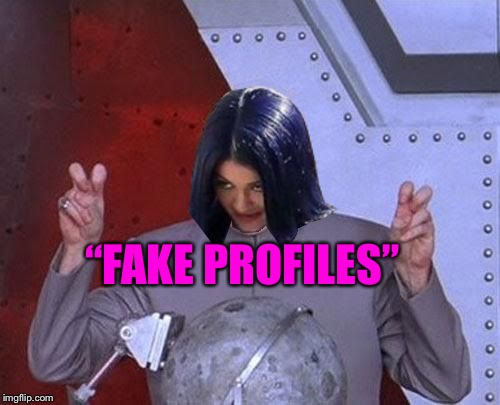"Dr Evil Mima | ""FAKE PROFILES"" 