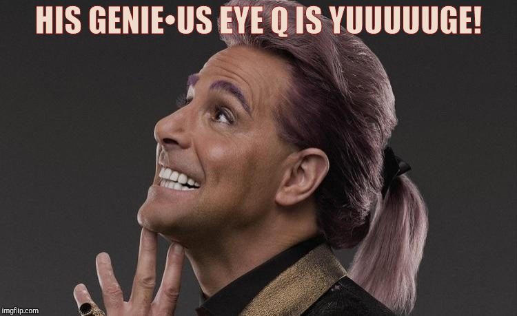 "Hunger Games - Caesar Flickerman (Stanley Tucci) ""Here it comes! 