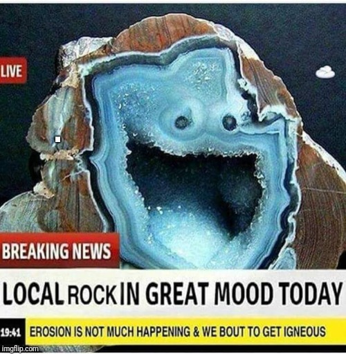 I guess so | . | image tagged in local rock,geode,funny | made w/ Imgflip meme maker