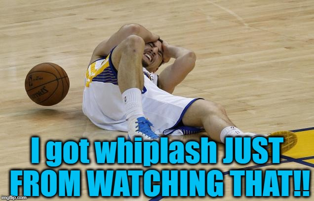 wow! | I got whiplash JUST FROM WATCHING THAT!! | image tagged in wow | made w/ Imgflip meme maker