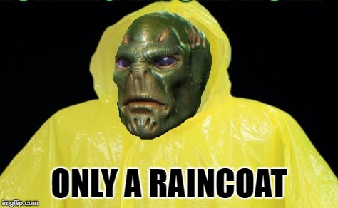 ONLY A RAINCOAT | made w/ Imgflip meme maker