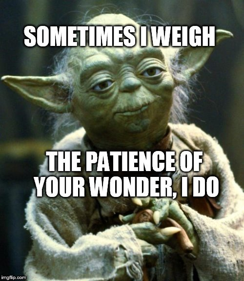 patience | image tagged in star wars yoda,advice yoda | made w/ Imgflip meme maker