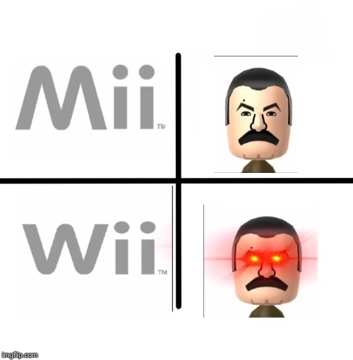 Wii | image tagged in mii,wii | made w/ Imgflip meme maker