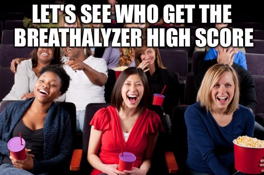 Funny | LET'S SEE WHO GET THE BREATHALYZER HIGH SCORE | image tagged in funny | made w/ Imgflip meme maker
