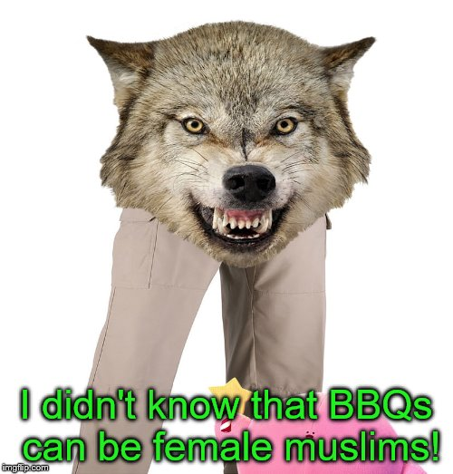 I didn't know that BBQs can be female muslims! | made w/ Imgflip meme maker