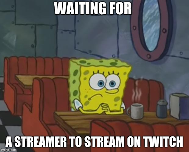 Spongebob Waiting - Imgflip