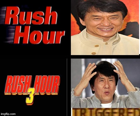 Jackie Chan Triggered  | image tagged in triggered template,jackie chan,jackie chan wtf,rush hour | made w/ Imgflip meme maker