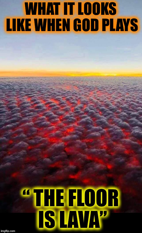 "California fires look like lava from the sky | WHAT IT LOOKS LIKE WHEN GOD PLAYS "" THE FLOOR IS LAVA"" 