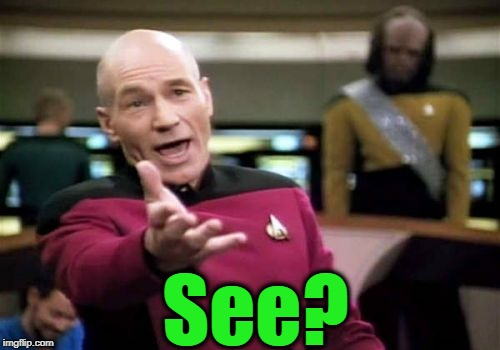 Picard Wtf Meme | See? | image tagged in memes,picard wtf | made w/ Imgflip meme maker