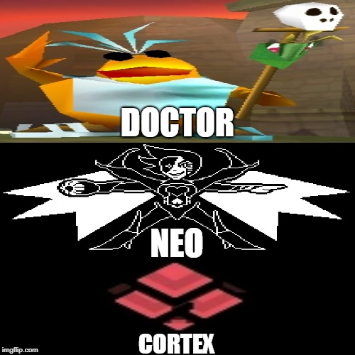 I can post this to 4 different subreddits. |  DOCTOR; NEO; CORTEX | image tagged in blank page | made w/ Imgflip meme maker