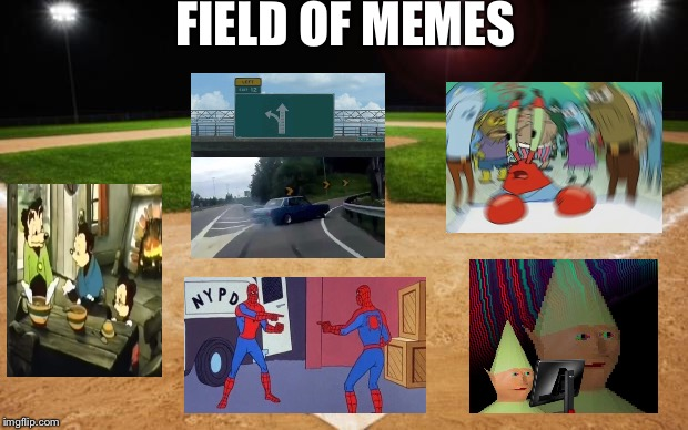 baseball | FIELD OF MEMES | image tagged in baseball | made w/ Imgflip meme maker