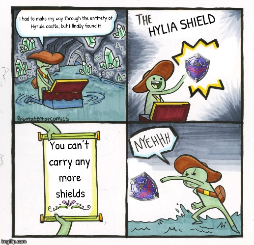 I made another one | image tagged in zelda,the legend of zelda,the legend of zelda breath of the wild | made w/ Imgflip meme maker
