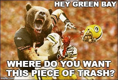 Image Tagged In Chicago Bears Packers Green Bay Packers Gobears Imgflip