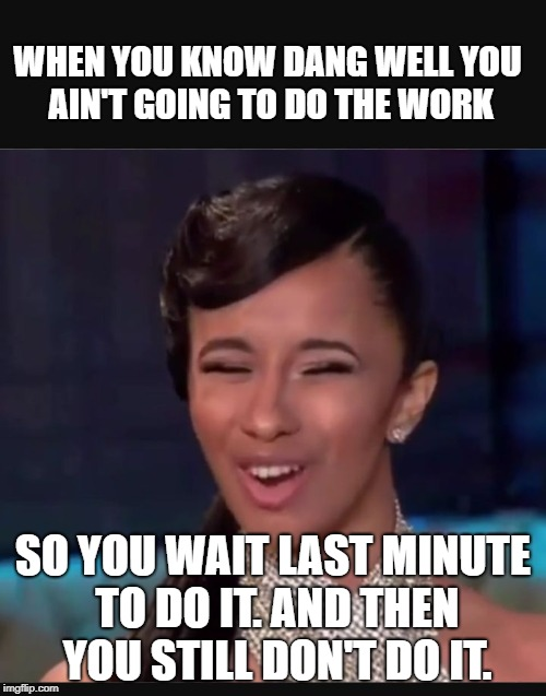 Image Tagged In Cardi B Face Imgflip