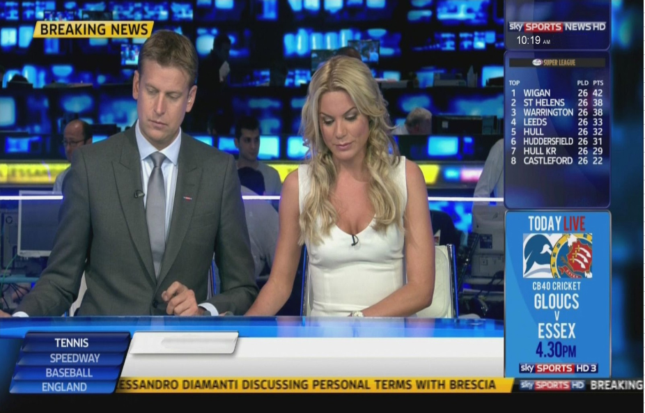 Sky Sports Breaking News Template