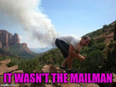 IT WASN'T THE MAILMAN | made w/ Imgflip meme maker