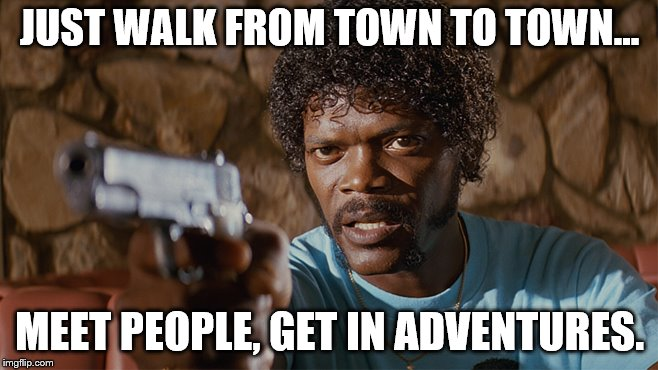 "Thinking about the Camino de Santiago, ""The Way""... 