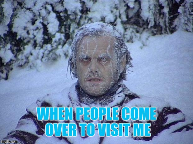 "I'm not even a ""big"" person. I just love air conditioning.  