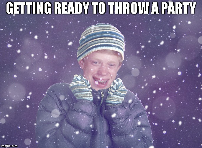 GETTING READY TO THROW A PARTY | made w/ Imgflip meme maker