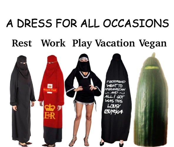 A Dress for all Occasions | A DRESS FOR ALL OCCASIONS | image tagged in burka,the dress | made w/ Imgflip meme maker