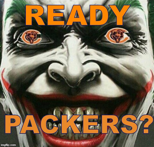 Image Tagged In Bears Packersbearspackerschicago Bearsgreen Bay